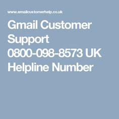 Gmail Customer Support 0800-098-8573 UK Helpline Number