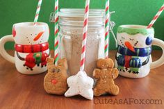 Cute As a Fox: PEEPS® Hot Chocolate Stir-Straws and Homemade Hot Chocolate Mix