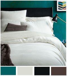 Con ésta paleta de colores lograrás un ambiente fresco y elegante sin caer en lo formal.