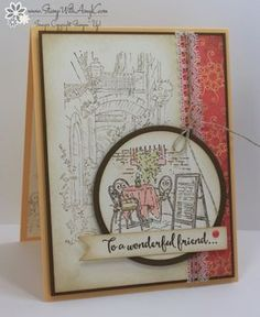 I used the Stampin' Up! Mediterranean Moments stamp set to create my card to share with you today. My card design was inspired by My Favorite Things Wednesday Sketch Challenge 316. I started …