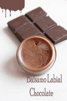 Bálsamo labial de chocolate