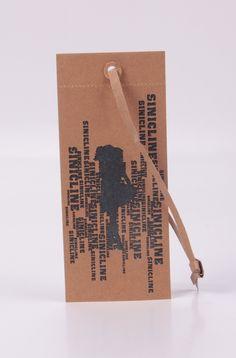 Vintage kraft paper hang tag designed by @sinicline  #vintage #ecofriendly #fashion