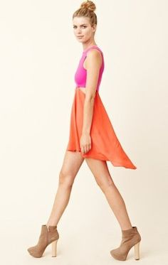 ShopStyle: donna mizani Diamond Flounce Dress