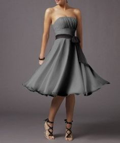 Looking around online one thing is clear – grey isn't just for rainy days anymore! John and I really want our wedding party's attire to be timeless – no 2012 equivalent to t…