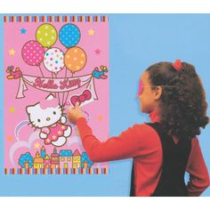 Party Time Celebrations  - Hello Kitty Party Game - Pin the Bow, $9.95 (http://www.partytimecelebrations.com.au/hello-kitty-party-game-pin-the-bow/)