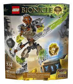 Amazon.com: LEGO Bionicle Pohatu Uniter of Stone 71306: Toys & Games