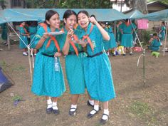 Senior Girl Scouts in the Phillippines #Thinking Day