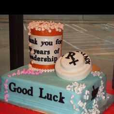 Pharmacy appreciation cake but really it'd just be my wedding shower cake lol