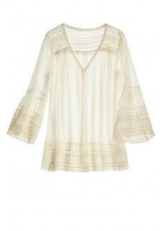 Nubia Woven Lace Tunic