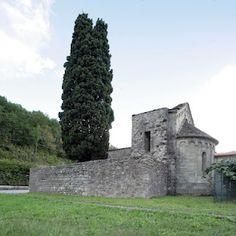 Rovine della millenaria chiesa di San Giorgio,Pontremoli,Massa Carrara