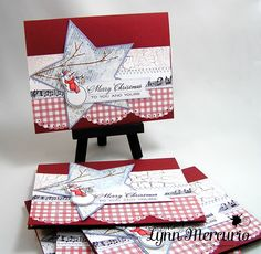 Snowy Greetings by Lynn in St. Louis - Cards and Paper Crafts at Splitcoaststampers