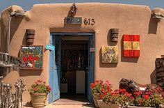 Canyon Road, Santa Fe, New Mexico