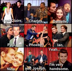 hahaha love it! Daniel Gillies