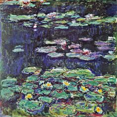Claude Monet - Water Lilies (1914)