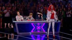 29-årige Julia Ivanova ställde upp i den ukrainska versionen av 'X Factor'. Juryn och publiken kunde inte låta bli ...