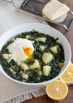 Recipe: Simple Kale & Potato Soup — Weeknight Dinner Recipes from The Kitchn