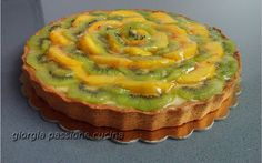 #giorgiapassionecucina: #crostata #crema #pasticcera e #frutta