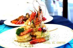 San Felipe B.C con sus ricos platillos de camarones como los pidas especialidad de todós los cocineros de la region .