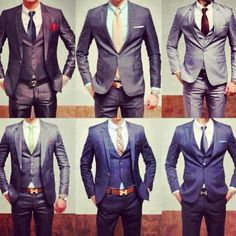 Never can go wrong with that..a men in suit
