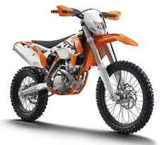 KTM 350 EXC-F, the best off road bike I have ever owned.