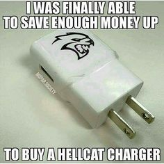 I thought this was hilarious lmao #hellcat #issajoke #ratherdriveanimport