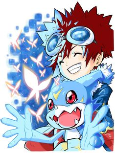 Naoki Akamine is known to Digimon fans for his artwork from the Digimon Universe: AppliMonsters manga, along with the one-shot manga. Digimon Wallpaper, Gatomon, Digimon Adventure 02, Digimon Frontier, Fanart, Digimon Digital Monsters, Art Painting Gallery, This Is My Story, Comic Styles