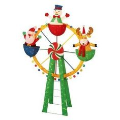 home accents holiday 72 in tinsel ferris wheel review at kaboodle - Christmas Ferris Wheel Decoration