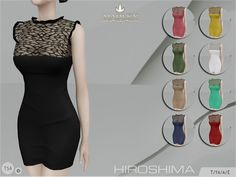 Sims 4 CC's - The Best: Dress by MJ95