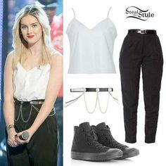 Perrie Edwards Straight Hair