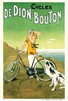 Product Description TITLE: Cycles De Dion-Bouton ARTIST: Felix Fournery CIRCA: 1925 ORIGIN: France Fine art giclee print on heavy acid free archival paper using 100+ year fade resistant inks. POSTER S