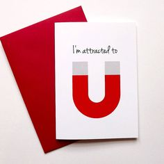A lovely boyfriend card. 'I'm Attracted to you' is a clever design with a sweet message. Also perfect for a husband's birthday or Anniversary.You can now choose to send this anniversary card direct to the recipient, which is perfect if you are overseas, in a hurry or want to save on some postage. Cards chosen with this option will include the message exactly as specified in the text box provided, and sent in an envelope directly to the contact name and delivery address provided.This witty…