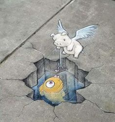#StreetArt #Mural #Illustration #Fishing