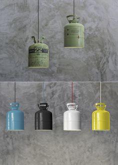 Vintage Industrial Lighting, Rustic Industrial, Diy Shed Kits, Oil Barrel, Modern Villa Design, Steampunk Design, Rustic Lamps, Solar Powered Lights, Mason Jar Lamp