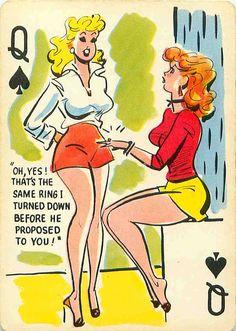 Playing card modeled after Elizabeth Taylor :)