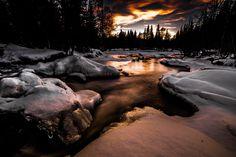 ***Gold river (Steinkjer, Norway) by Terje Nilssen / 500px