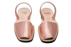 f7d29989d214 Image of Rose Gold Pons Avarcas Spanish Shoes