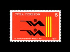 Cuban Olympic Stamp