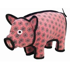 The Tuffest dog toys available in the Barn Yard animal - Polly Pig. A big toy for a big dog!