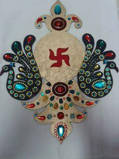 decorated Board Rangoli