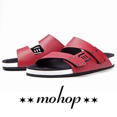 Too Fresh! Mohop 2 strap cloud sandals with custom color combination! Design your pair at Mohop.com/Shop
