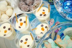 Melted Olaf frozen