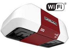 The LiftMaster is a WiFi garage door opener allowing you to control your garage doors via smartphone. Learn more about our Wi-Fi garage door opener here. Garage Door Replacement, Garage Door Repair, Garage Door Opener, Action Door, Series Dc, Wi Fi, Liftmaster Garage Door, Residential Garage Doors, Overhead Garage Door