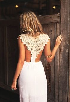 White dress perfect