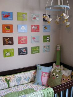 infant baby room eating area | Creating The Acceptable And Engaging Nursery Wall Decor Style