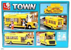 Costruzioni SCUOLABUS CON STUDENTI ED AUTISTA mattoncini 0507 Per bambini 6 anni Lego