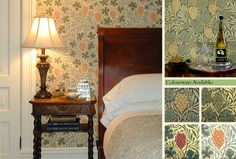Vine    Designed by William Morris in 1873  The Historic Wallpapers Collection