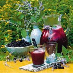 Blackberry Iced Tea Recipe | MyRecipes.com