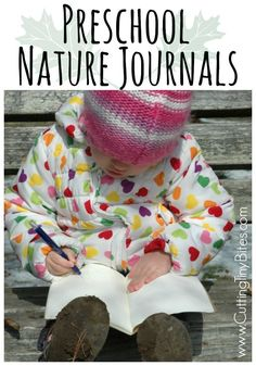 Preschool Nature Journals. Great way to get kids of all ages outside, good for classrooms or home use.