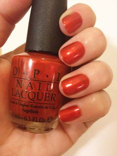 I LOVE this colour! Germany Collection by OPI - Deutsch You Want Me Baby?