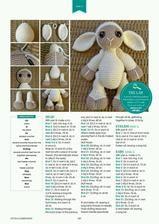 Mesmerizing Crochet an Amigurumi Rabbit Ideas. Lovely Crochet an Amigurumi Rabbit Ideas. Crochet Sheep, Crochet Amigurumi, Knit Or Crochet, Cute Crochet, Crochet For Kids, Amigurumi Patterns, Crochet Animals, Crochet Crafts, Crochet Dolls